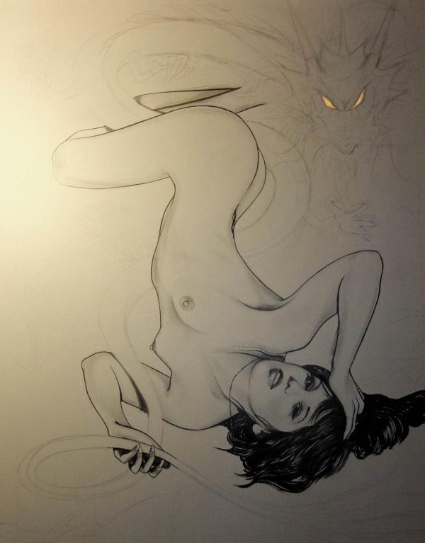Sayuri Dragon (work in progress)