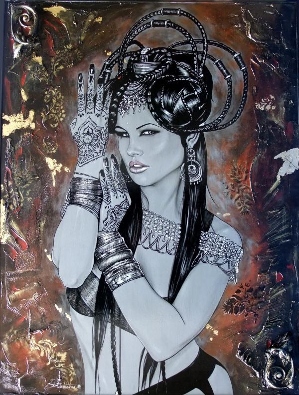 déesse d'orient