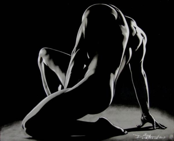 Homme ombre et lumiere